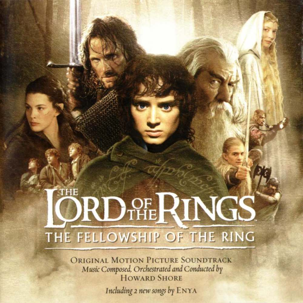 The Lord of the Rings Trilogy (Film Score) – Howard Shore