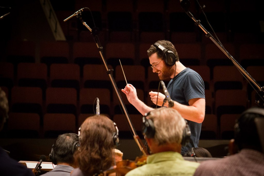 Austin Wintory conducting