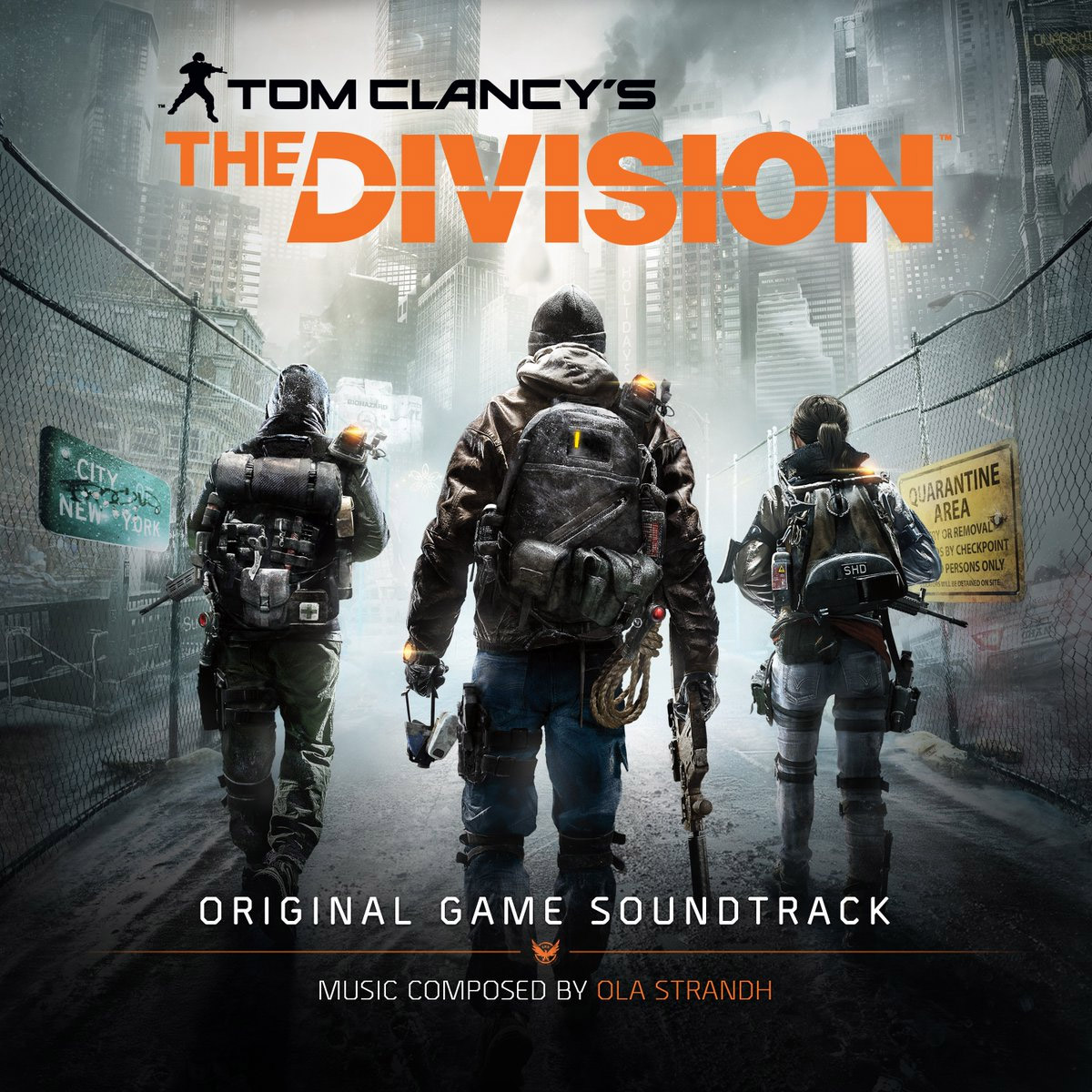 The Division (Game Soundtrack) – Ola Strandh